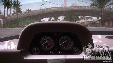 Ferrari F40 для GTA San Andreas вид снизу