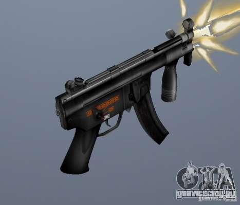 H&K MP5K для GTA San Andreas второй скриншот
