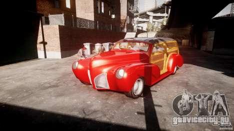 Chevy Fleetmaster Woody Kustom 1948 для GTA 4