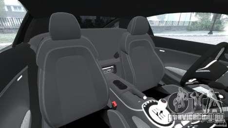 Audi R8 V10 2010 для GTA 4 вид изнутри