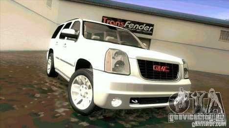 GMC Yukon Denali 2007 для GTA San Andreas вид слева