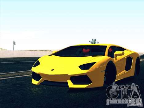 Lamborghini Aventador LP700-4 2011 V1.0 для GTA San Andreas салон