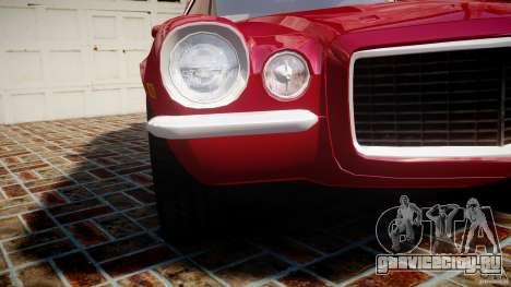 Chevrolet Camaro Z28 для GTA 4 вид сверху