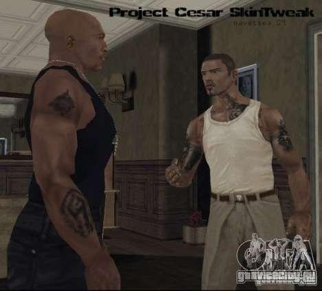 Ретекстуризация персонажей для GTA San Andreas четвёртый скриншот