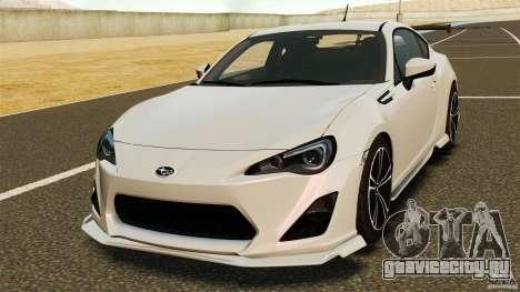 Subaru BRZ Rocket Bunny Aero Kit для GTA 4