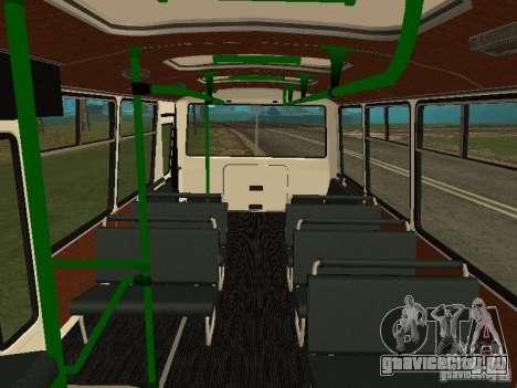 ПАЗ 32053 для GTA San Andreas вид сзади