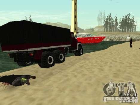 КрАЗ 260 для GTA San Andreas вид сзади