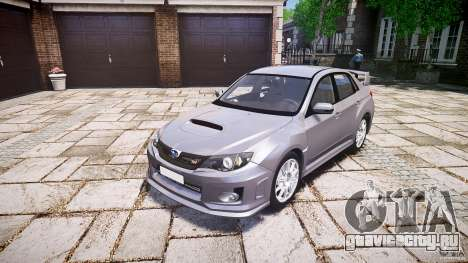 Subaru Impreza WRX 2011 для GTA 4