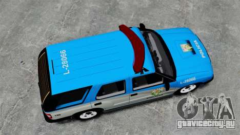 Chevrolet Blazer 2010 PMERJ ELS для GTA 4 вид справа
