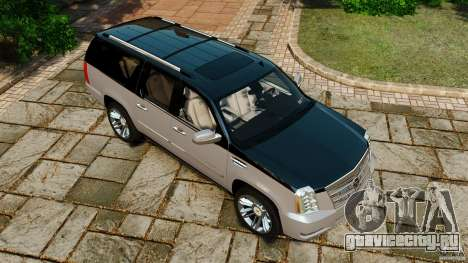 Cadillac Escalade ESV 2012 для GTA 4 салон
