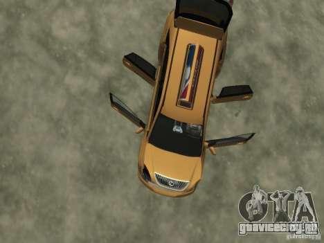 Lexus RX400 New York Taxi для GTA 4 колёса