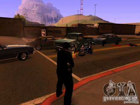Pancor Jackhammer для GTA San Andreas третий скриншот