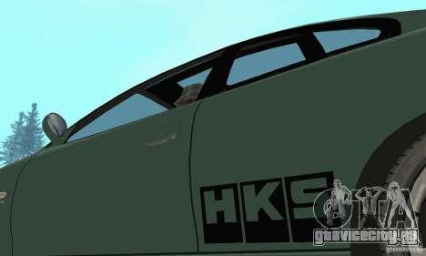 Vauxhall Monaro VXR Open SKY 2004 для GTA San Andreas вид сбоку