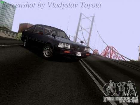 Toyota Corolla TE71 Coupe для GTA San Andreas