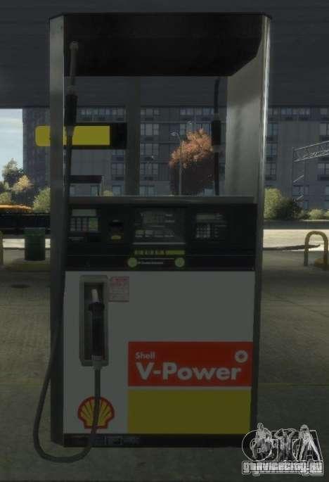 Shell Petrol Station для GTA 4 восьмой скриншот