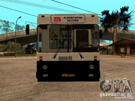 ЛиАЗ 5256.00 для GTA San Andreas вид справа