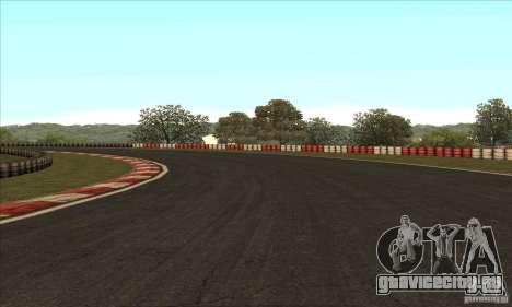 Трасса GOKART Route 2 для GTA San Andreas десятый скриншот