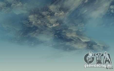 Real Sky Efects для GTA San Andreas третий скриншот