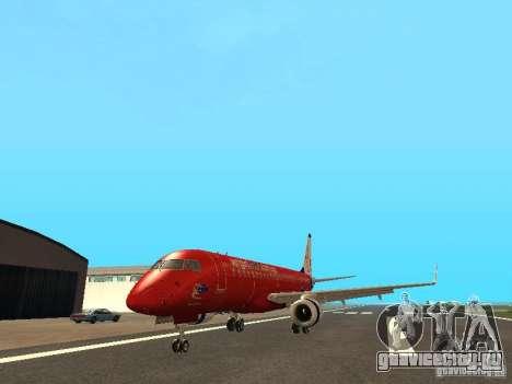 Embraer ERJ 190 Virgin Blue для GTA San Andreas