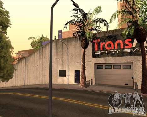 Украшение автосалона Wang Cars для GTA San Andreas четвёртый скриншот