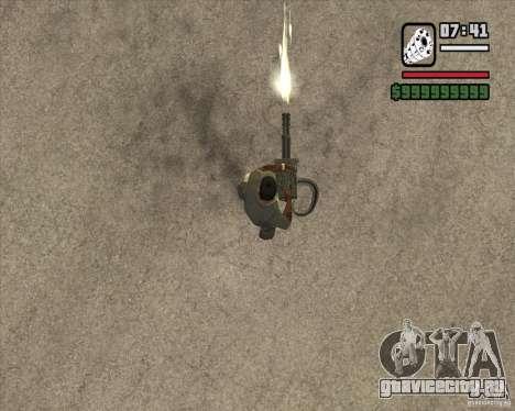 Hand Held M134 Minigun для GTA San Andreas третий скриншот