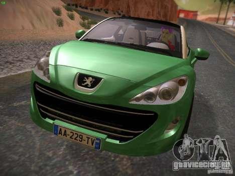 Peugeot RCZ 2010 для GTA San Andreas