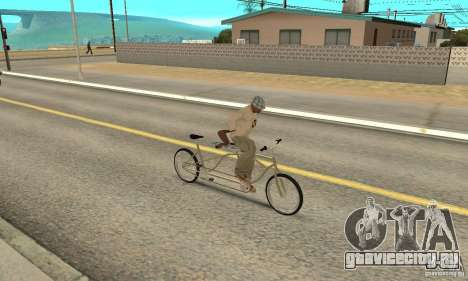 double classic MT Bike для GTA San Andreas