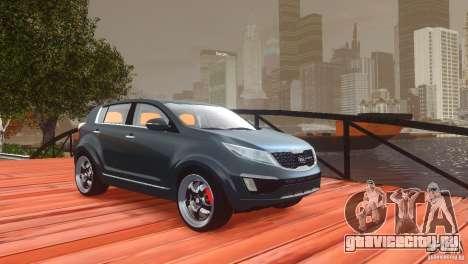 Kia Sportage 2010 v1.0 для GTA 4 вид сверху