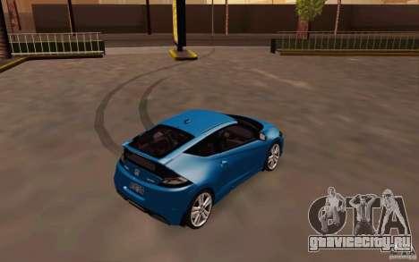 Honda CR-Z 2010 V3.0 для GTA San Andreas вид справа