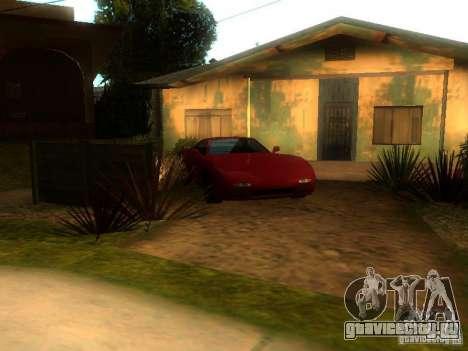 New Car in Grove Street для GTA San Andreas второй скриншот