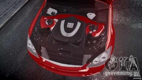 Mercedes Benz w221 s500 v1.0 cls amg wheels для GTA 4 вид справа