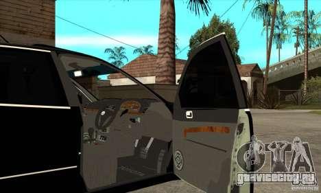TOYOTA ARISTO 2001 года для GTA San Andreas вид изнутри