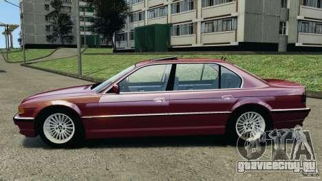 BMW 750iL E38 1998 для GTA 4 вид слева