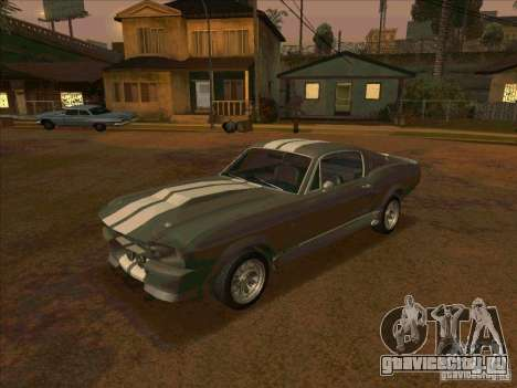 Ford Shelby GT500 Eleanor для GTA San Andreas
