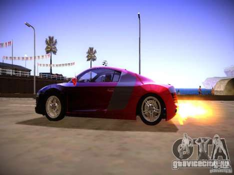 Эффекты выхлопной трубы для GTA San Andreas третий скриншот
