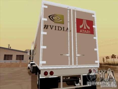 Caband trailer для GTA San Andreas вид справа