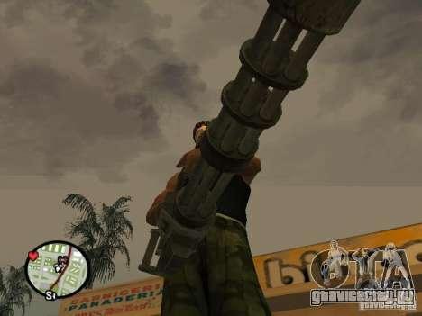 Миниган М134 из CoD:Mw2 для GTA San Andreas седьмой скриншот