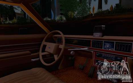 Ford Crown  Victoria LTD 1985 taxi для GTA San Andreas вид справа
