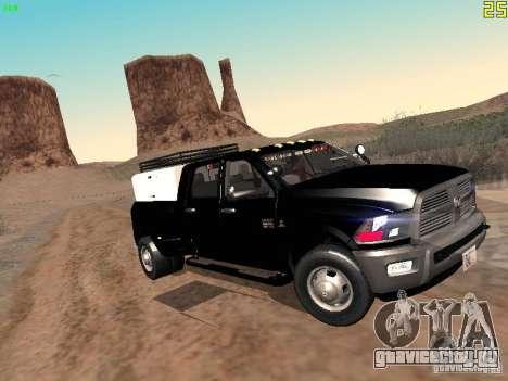 Dodge Ram 3500 Unmarked для GTA San Andreas