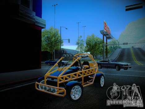 Buggy From Crash Rime 2 для GTA San Andreas