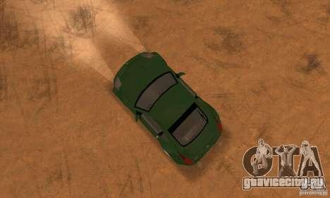 Nissan 350Z stock для GTA San Andreas вид справа