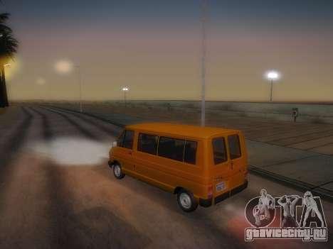Renault Trafic T1000D Minibus для GTA San Andreas вид сбоку