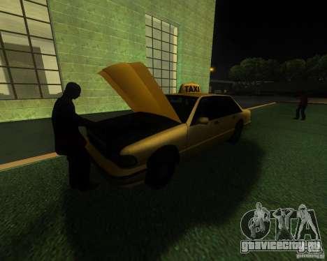 Оживлённый железнодорожный вокзал в Сан Фиерро для GTA San Andreas третий скриншот