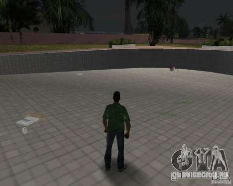 Новая вода, газеты, листья, луна для GTA Vice City седьмой скриншот