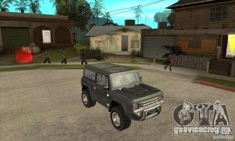Ford Bronco Concept для GTA San Andreas вид сзади