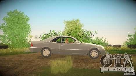 Mercedes Benz 600 SEC для GTA San Andreas вид слева