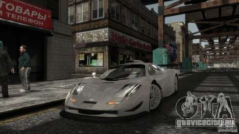 McLaren F1 GTR Longtail для GTA 4