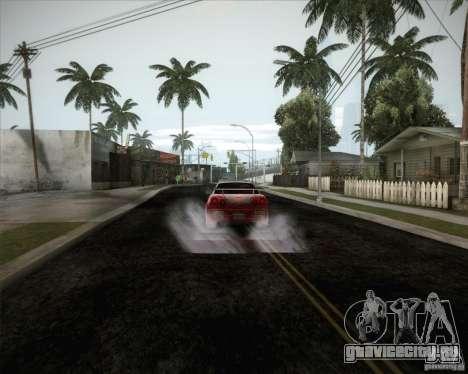 Nissan Skyline Z-Tune v2.0 для GTA San Andreas вид сверху