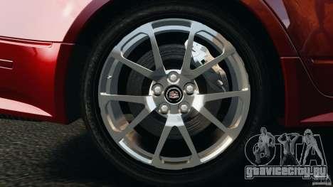 Cadillac CTS-V 2009 для GTA 4 вид сбоку