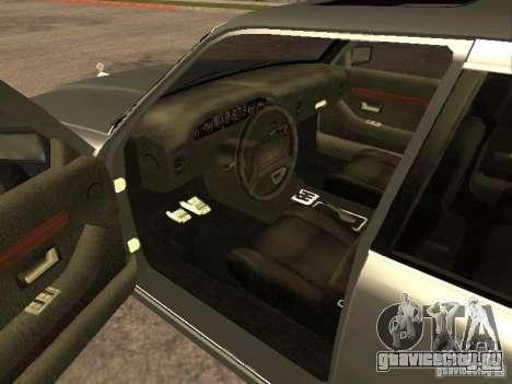 HD Sentinel для GTA San Andreas вид сзади слева